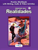 Prentice Hall Spanish  Realidades Practice Workbook Writing Level 1 2005c