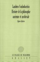 Pdf Histoire de la philosophie ancienne et médiévale Telecharger