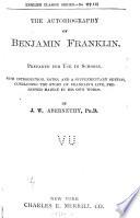The Autobiography of Benjamin Franklin Book PDF
