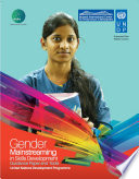 Gender Mainstreaming in Skills Development Book