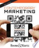 """Contemporary Marketing, Update 2015"" by Louis E. Boone, David L. Kurtz"