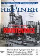 Hydrocarbon Processing Petroleum Refiner Book PDF