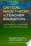 Critical Race Theory in Teacher Education Book PDF