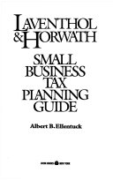 Laventhol   Horwath Small Business Tax Planning Guide