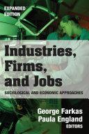 Industries, Firms, and Jobs Pdf/ePub eBook