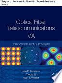 Optical Fiber Telecommunications VIA Book