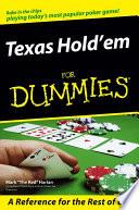 Texas Hold em For Dummies