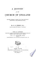A History of the Church of England