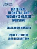 Maternal  Neonatal  and Women s Health Nursing Book PDF