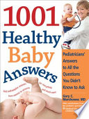 1001 Healthy Baby Answers Book PDF