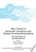 New Trends in Nonlinear Dynamics and Pattern Forming Phenomena