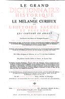 Le Grand Dictionnaire Historique