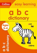 Collins ABC Picture Dictionary Ages 3-4 (Collins Easy Learning Preschool)