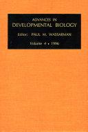 Advances in Developmental Biology