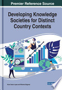 Developing Knowledge Societies For Distinct Country Contexts Book PDF