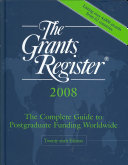 The Grants Register 2008