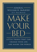 book cover image Make Your Bed
