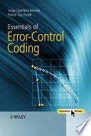 Essentials of Error Control Coding