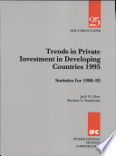 Trends in Private Investment in Developing Countries 1995