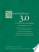 Nomenclature 3 0 for Museum Cataloging