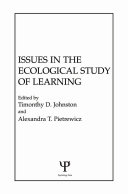 Issues in the Ecological Study of Learning