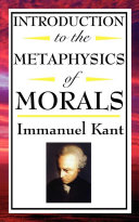 Introduction to the Metaphysics of Morals