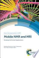 Mobile NMR and MRI