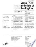 Acta Hydrochimica Et Hydrobiologica