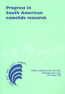 Progress in South American Camelids Research