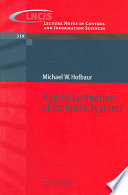 Hybrid Estimation Of Complex Systems Book PDF