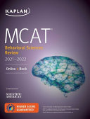 MCAT Behavioral Sciences Review 2021 2022