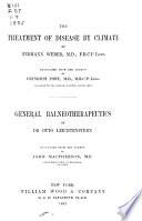 Von Ziemssen s Handbook of general therapeutics  v 4  1885 Book PDF