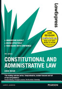 Law Express: Constitutional and Administrative Law 4th edn
