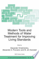 Modern Tools and Methods of Water Treatment for Improving Living Standards