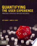 Quantifying the User Experience Book