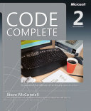 Code Complete book cover image