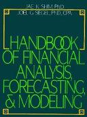 Handbook of Financial Analysis  Forecasting   Modeling