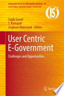 User Centric E Government