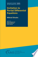 Invitation to Partial Differential Equations
