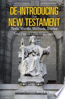 De Introducing the New Testament Book PDF