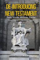De-Introducing the New Testament [Pdf/ePub] eBook