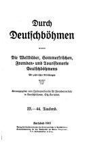 Durch Deutschböhmen