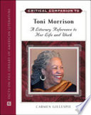 Critical Companion To Toni Morrison