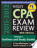 Wiley CPA Examination Review, Outlines and Study Guides Pdf/ePub eBook