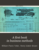 A First Book in Business Methods