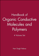 Handbook of Organic Conductive Molecules and Polymers  Charge Transfer Salts  Fullerenes and Photoconductors