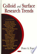 Colloid and Surface Research Trends