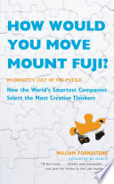 How Would You Move Mount Fuji  Book