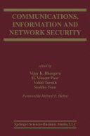 Communications  Information and Network Security