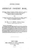 Pdf Jennie June's American Cookery Book